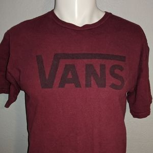 Classic Vans Logo Shirt Medium Excellent